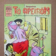 Comics: TÓ APEIRÓN, POR SANTIAGO SEQUEIROS (LA CÚPULA, 1996). COLECCIÓN BRUT CÓMIX.. Lote 272368338