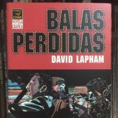 Cómics: BALAS PERDIDAS 1. LA INOCENCIA DEL NIHILISMO, DE DAVID LAPHAM. LA CÚPULA.. Lote 275339503