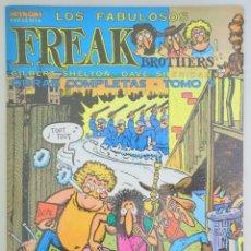 Cómics: SHELTON, GILBERT - LOS FABULOSOS FREAK BROTHERS. (TOMO 1) - BARCELONA 1983 - MUY ILUSTRADO. Lote 275532013