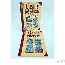 Cómics: JESUS BENDITO Y JESUS VUELVE (COMPLETA) (TRONCHET) LA CUPULA - IMPECABLE - SUB02M. Lote 276175943