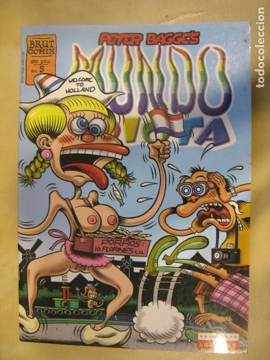 MUNDO IDIOTA # 5 (LA CUPULA,1996) - ODIO - PETER BAGGE (Tebeos y Comics - La Cúpula - Comic USA)