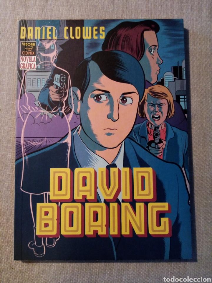 DAVID BORING VIBORA COMIX - DANIEL CLOWES - LA CUPULA EDICIONES - 1ª EDICION - MEJOR OBRA EXTRANJERA (Tebeos y Comics - La Cúpula - Comic USA)