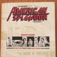 Comics: AMERICAN SPLENDOR DE HARVEY PEKAR, LOS TRES TOMOS. PERFECTO ESTADO.. Lote 280903568