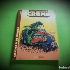 Cómics: CRUMB,CONOCE A TU ENEMIGO.OBRAS COMPLETAS Nº 10.A1. Lote 283056593