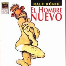 Cómics: COMIC NOVELA GRAFICA VIBORA COMIX EL NUEVO HOMBRE RALF KONIG. Lote 284127323