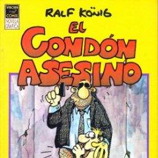 Cómics: COMIC VIBORA COMIX NOVELA GRAFICA EL CONDON ASESINO RALF KONIG EDICIONES LA CUPULA. Lote 284604648