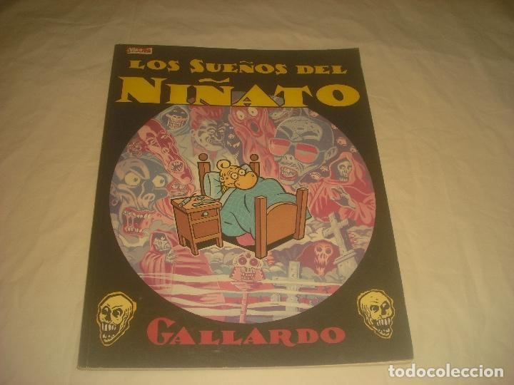 LOS SUEÑOS DEL NIÑATO . GALLARDO . ED. CUPULA. 1986. (Tebeos y Comics - La Cúpula - Autores Españoles)