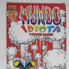 Cómics: MUNDO IDIOTA Nº 1 LA CUPULA,1996 ODIO - PETER BAGGE ARX147. Lote 285653278