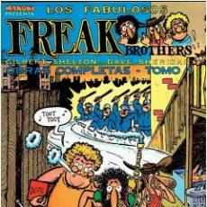 Cómics: * FREAK BROTHERS * OBRAS COMPLETAS * TOMO 1 * 1ª EDICIÓN * LA CÚPULA 1983 *. Lote 285763443
