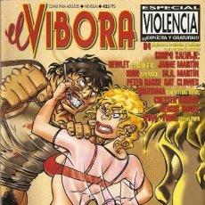 Fumetti: EL VÍBORA ESPECIAL VIOLENCIA. Lote 286172473