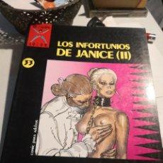 Cómics: EDICIONES LA CÚPULA. CÓMIC ADULTOS Nº 33 LOS INFORTUNIOS DE JANICE. GOTHA COLECCION X. Lote 286327343