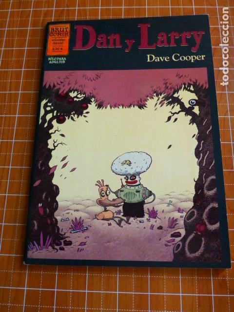 DAN Y LARRY - DAVE COOPER - BRUT COMIX - NÚMERO UNICO - LA CUPULA (Tebeos y Comics - La Cúpula - Comic USA)