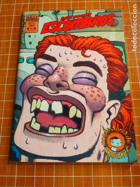 ESCOMBROS Nº 4 DE DAVE COOPER BRUT COMIX LA CÚPULA (Tebeos y Comics - La Cúpula - Comic Europeo)