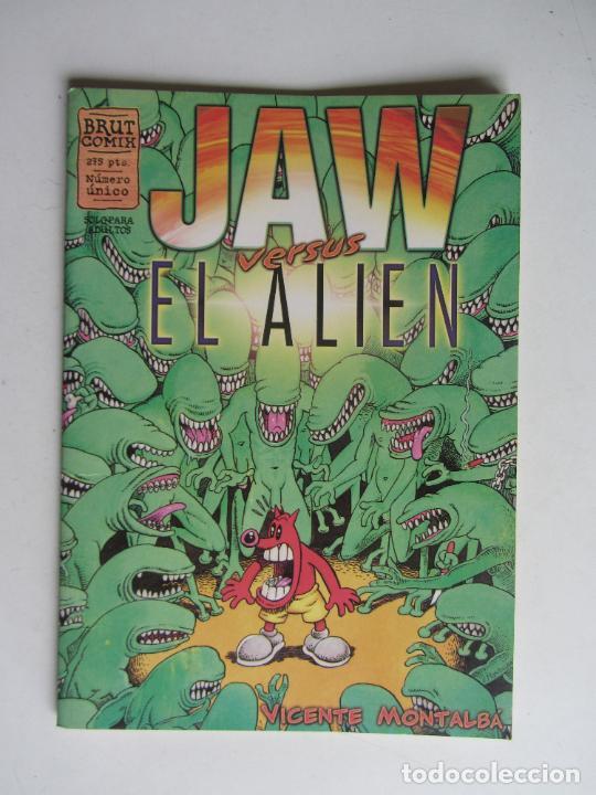 LA CUPULA JAW EL ALIEN VICENTE MONTALBÁ BUEN ESTADO ARX106 (Tebeos y Comics - La Cúpula - Autores Españoles)