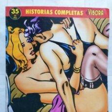 Cómics: EL VIBORA, HISTORIAS COMPLETAS, Nº 35, VARENNE, CUERPO A CUERPO. Lote 287487698