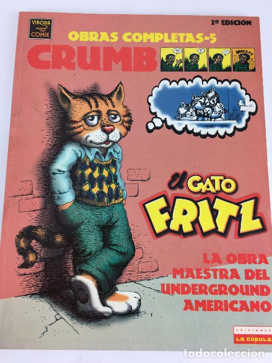 CRUMB: EL GATO FRITZ. LA OBRA MAESTRA DEL UNDERGROUND AMERICANO. OBRAS COMPLETAS DE GRUM Nº 5 (BARC (Tebeos y Comics - La Cúpula - Comic USA)