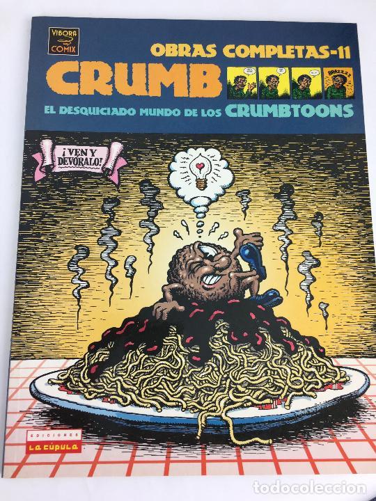 EL DESQUICIADO MUNDO DE LOS CRUMBTOONS - CRUMB - OBRAS COMPLETAS 11 - 1ª ED. LA CÚPULA 2003 ¡NUEVO! (Tebeos y Comics - La Cúpula - Comic USA)