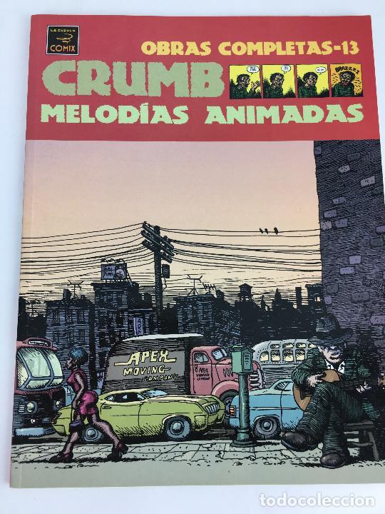 OBRAS COMPLETAS ROBERT CRUMB 13 - MELODIAS ANIMADAS - LA CUPULA (Tebeos y Comics - La Cúpula - Comic USA)