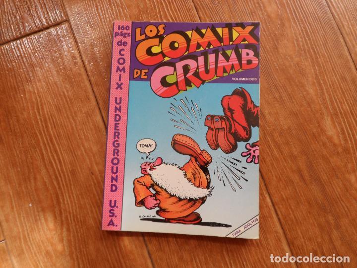 LOS COMIX DE CRUMB VOLUMEN II 1978 UNDERGROUND (Tebeos y Comics - La Cúpula - Comic USA)