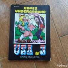 Cómics: COMIX UNDERGROUND USA 3. EDITORIAL FUNDAMENTOS. 2ª EDICIÓN 1979. Lote 288183368