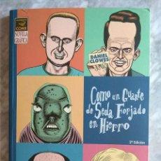 Cómics: DANIEL CLOWES: COMO UN GUANTE DE SEDA FORJADO EN HIERRO (EDICIONES LA CÚPULA). Lote 288184218