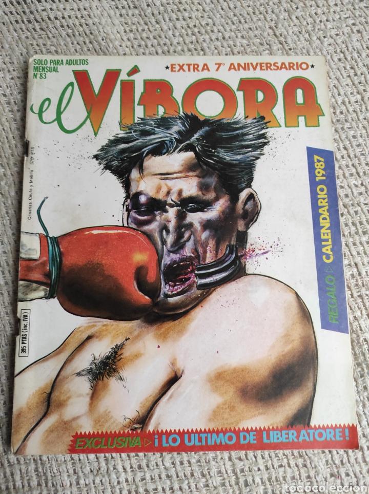 EL VIBORA - Nº 83 - EXTRA 7º ANIVERSARIO - EDITA : LA CUPULA - CONTIENE CALENDARIO (Tebeos y Comics - La Cúpula - El Víbora)