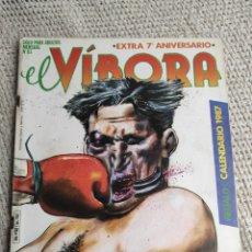 Cómics: EL VIBORA - Nº 83 - EXTRA 7º ANIVERSARIO - EDITA : LA CUPULA - CONTIENE CALENDARIO. Lote 288536038