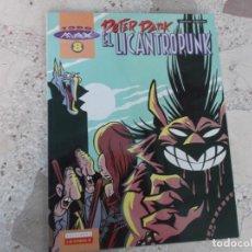 Cómics: TODO MAX Nº 8, EL LICANTROPUNK, PETER PANK, EDICIONES LA CUPULA, COLOR, 22 X 28, 1995, 44 PAGINAS. Lote 288636968