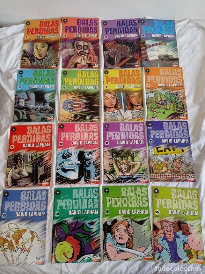 BALAS PERDIDAS, DE DAVID LAPHAM, 16 VOL. (Tebeos y Comics - La Cúpula - Comic USA)