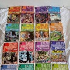 Cómics: BALAS PERDIDAS, DE DAVID LAPHAM, 16 VOL.. Lote 288670853