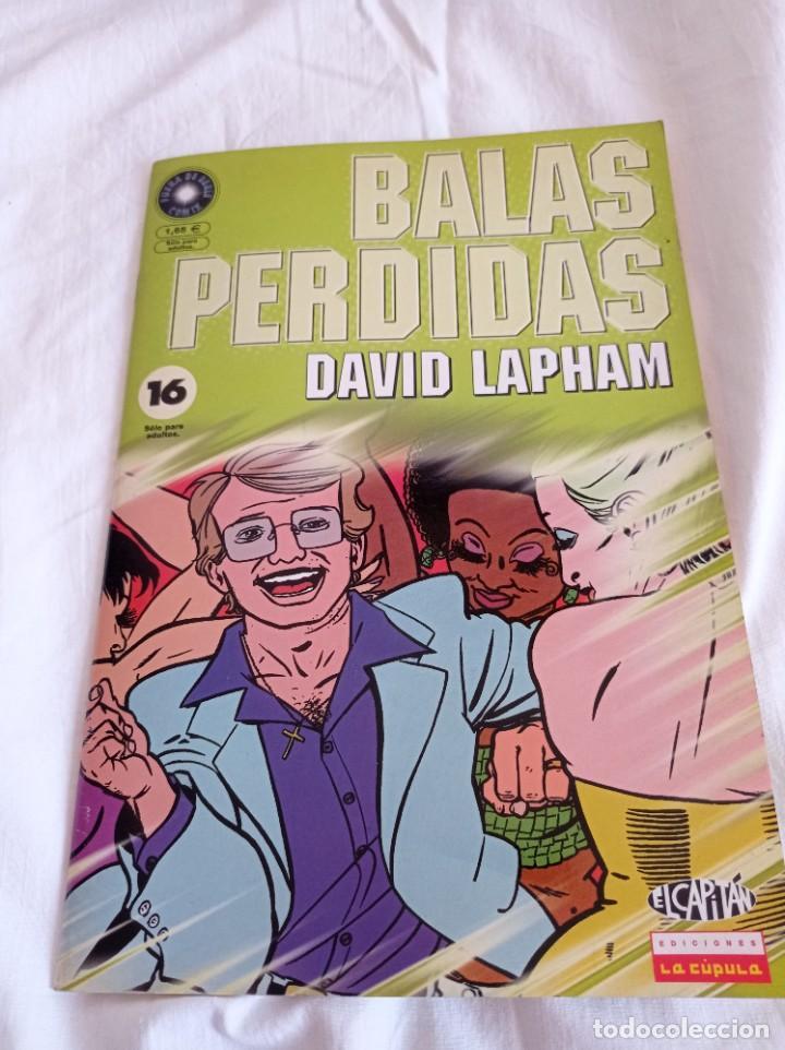 Cómics: Balas perdidas, de David Lapham, 16 vol. - Foto 3 - 288670853