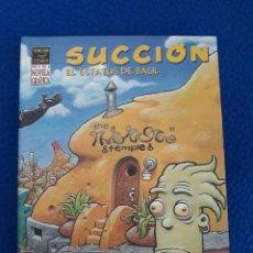 Cómics: SUCCIÓN. EL ESTATUS DE BASIL - DAVE COOPER. Lote 288967303