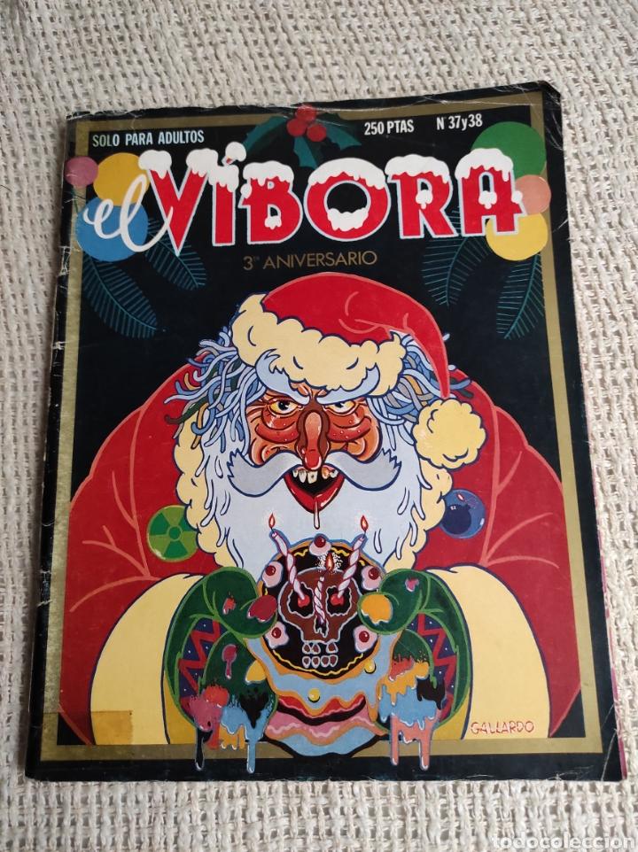 EL VÍBORA Nº 37 - 38 , 3º ANIVERSARIO - EDITA : LA CUPULA (Tebeos y Comics - La Cúpula - El Víbora)