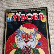 Cómics: EL VÍBORA Nº 37 - 38 , 3º ANIVERSARIO - EDITA : LA CUPULA. Lote 289326803