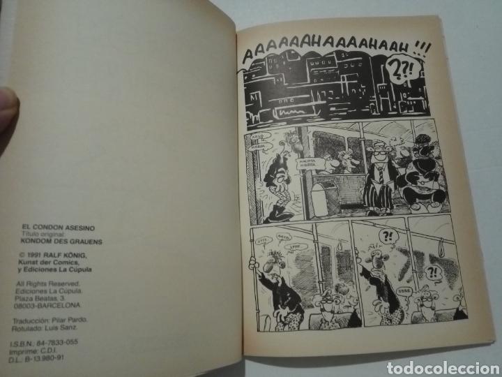 Cómics: RALPH KÖNIG. EL CONDÓN ASESINO I Y II. EL HOMBRE NUEVO. PRETTY BABY. EDICIONES LA CÚPULA. - Foto 5 - 289375808