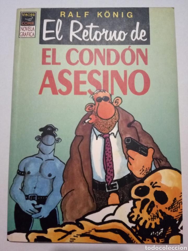 Cómics: RALPH KÖNIG. EL CONDÓN ASESINO I Y II. EL HOMBRE NUEVO. PRETTY BABY. EDICIONES LA CÚPULA. - Foto 6 - 289375808