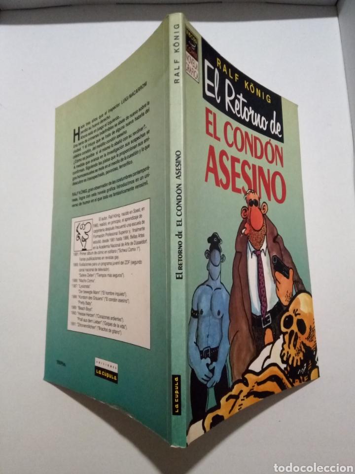 Cómics: RALPH KÖNIG. EL CONDÓN ASESINO I Y II. EL HOMBRE NUEVO. PRETTY BABY. EDICIONES LA CÚPULA. - Foto 8 - 289375808