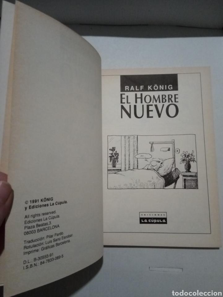 Cómics: RALPH KÖNIG. EL CONDÓN ASESINO I Y II. EL HOMBRE NUEVO. PRETTY BABY. EDICIONES LA CÚPULA. - Foto 23 - 289375808