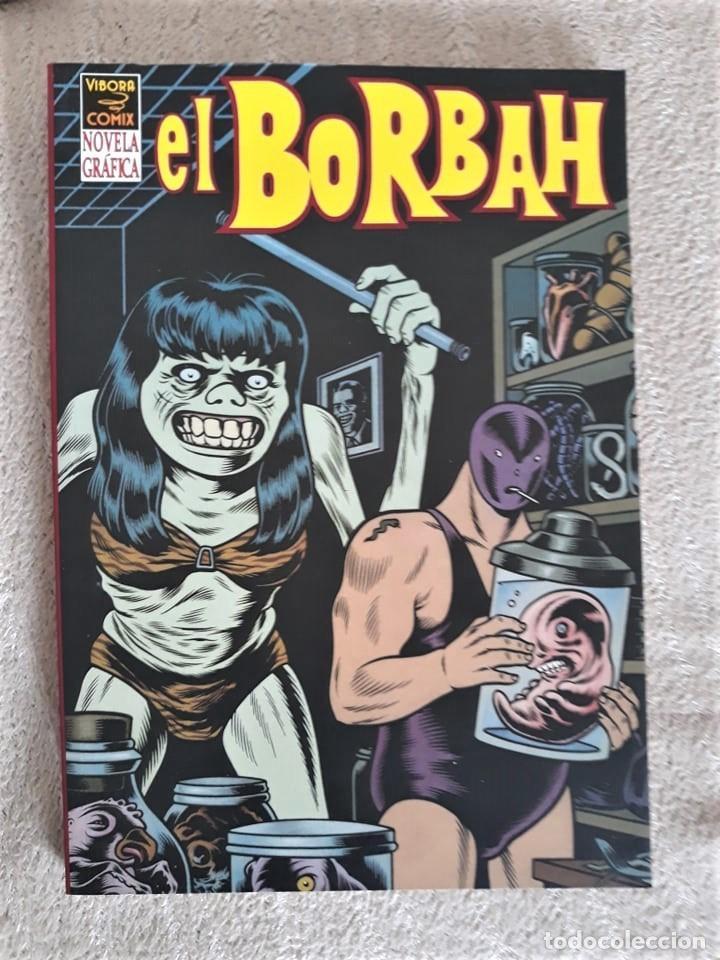 EL BORBAH - CHARLES BURNS (Tebeos y Comics - La Cúpula - Comic USA)