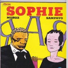 Cómics: SOPHIE - MUÑOZ Y SAMPAYO - LA CUPULA. Lote 289602228