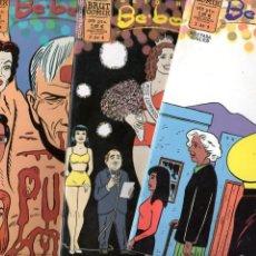 Cómics: BE.BOP. A. LUBA *** BETO HERNANDEZ *** COLECCIÓN COMPLETA 4 COMICS. Lote 290624993