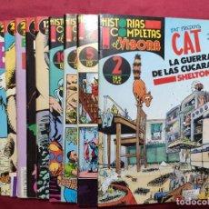 Fumetti: HISTORIAS COMPLETAS EL VIBORA.LOTE DE 11 EJEMPLARES. EDICIONES LA CUPULA.. Lote 290718283