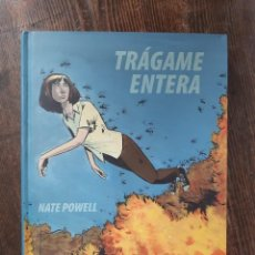 Cómics: TRÁGAME ENTERA - NATE POWELL. Lote 291193038
