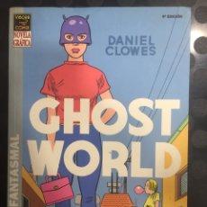 Cómics: GHOST WORLD : MUNDO FANTASMAL DE DANIEL CLOWES VÍBORA COMIX ( 4@ EDICIÓN 2004 ). Lote 291466668