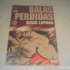 Cómics: BALAS PERDIDAS N. 21 , DAVID LAPHAM. Lote 291938193