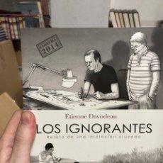 Fumetti: LOS IGNORANTES RETRATO DE UNA INICIACIÓN CRUZADA - ETIEVE DAVODEAU - LA CUPULA. Lote 292263513