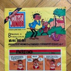 Cómics: GACETA JUNIOR Nº 40 - BUEN ESTADO. Lote 293238578