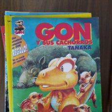 Cómics: GON Y SUS CACHORROS - TANAKA. Lote 293700558