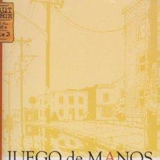 Cómics: JUEGO DE MANOS, VOLÚMENES 1 -3 (OBRA COMPLETA),NOVELA GRÁFICA DE JASON LUTES. Lote 293804443