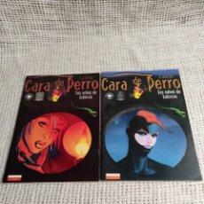 Cómics: CARA DE PERRO /POR CADELO - LOTE Nº 1 Y 2 - EDITA : LA CUPULA MERCADO. Lote 32883322